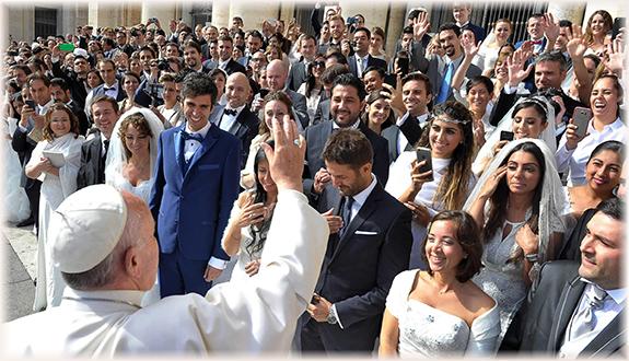 Házaspárok a katolikus világban